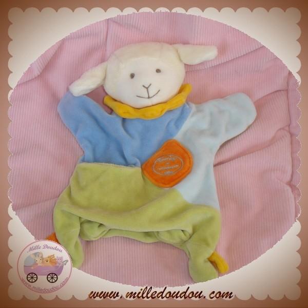 doudou et compagnie simon le petit mouton marionnette. Black Bedroom Furniture Sets. Home Design Ideas