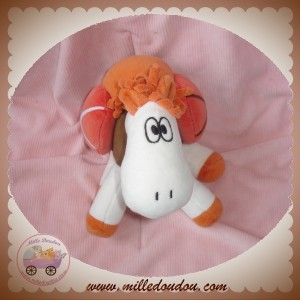 MARESE SOS DOUDOU DROMADAIRE BLANC MARRON ORANGE