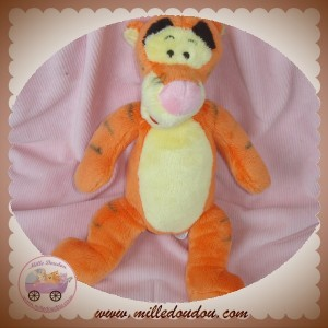 DISNEY SOS DOUDOU TIGRE TIGROU POIL ORANGE ROSE NICOTOY