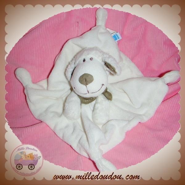 tex doudou mouton blanc plat foulard sos. Black Bedroom Furniture Sets. Home Design Ideas