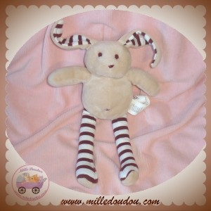 SERGENT MAJOR DOUDOU LAPIN ECRU BORDEAUX SOS