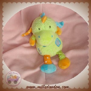 BABYSUN DOUDOU DRAGON VERT ORANGE VERT BABY SUN SOS