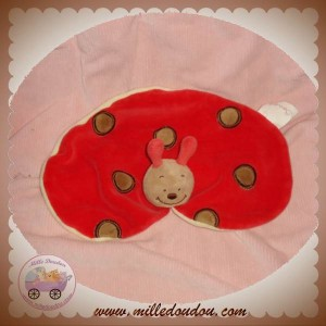 BENGY DOUDOU COCCINELLE LOUPI CORPS OVALE ROUGE PLAT SOS