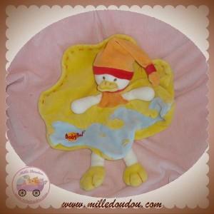 BABYNAT BABY NAT DOUDOU CANARD PLAT JAUNE SOS