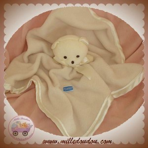 MUSTI MUSTELA DOUDOU OURS PLAT BLANC POLAIRE SOS