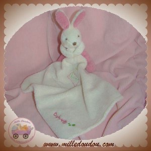 BABYNAT BABY NAT DOUDOU LAPIN ROSE BABY DO MOUCHOIR SOS