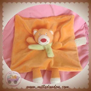 KIMBALOO DOUDOU RENARD PLAT ORANGE SOS