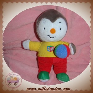 Jemini Doudou T Choupi Nounours Ballon Sos