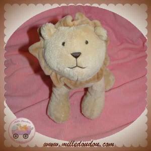 JACADI SOS DOUDOU LION MOYEN MODELE CAMEL