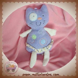 CP INTERNATIONAL SOS DOUDOU CHAT MAUVE VIOLET ROND