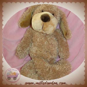 HAPPY HORSE DOUDOU CHIEN BOUCLETTE MARRON SOS