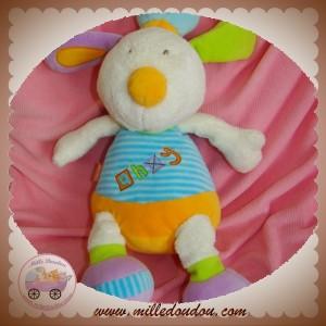 BABYSUN BABY SUN DOUDOU CHIEN LAPIN ECRU AHOY BLEU ORANGE HOCHET SOS