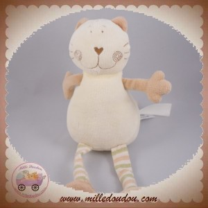 TOWER TOYS MGM DOUDOU CHAT ECRU BEIGE