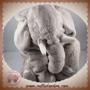 IKEA DOUDOU ELEPHANT GRIS KLAPPAR ELEFANT SOS