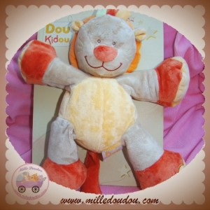 DOU KIDOU SOS DOUDOU LION SAFARI ORANGE MONGO 30 CM