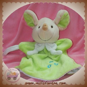 PLAYKIDS PLAY KIDS DOUDOU SOURIS MARIONNETTE VERTE SOS