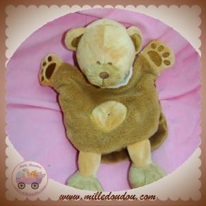 BABYNAT BABY NAT SOS DOUDOU OURS MARRON MARIONNETTE