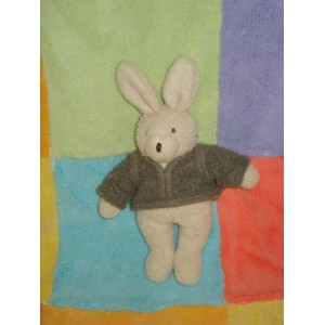 MOULIN ROTY DOUDOU LAPIN ECRU PULL THEOPHILE HOCHET