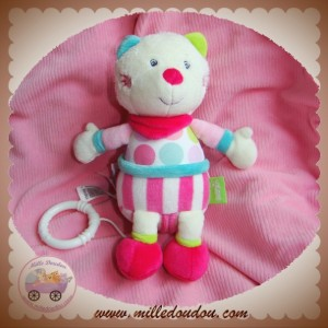 BABYSUN BABY SUN SOS DOUDOU CHAT OURS GOURMANDISE MUSICAL ROSE
