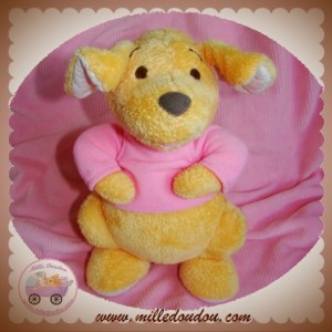DISNEY SOS DOUDOU KANGOUROU GOUROU ORANGE PULL ROSE