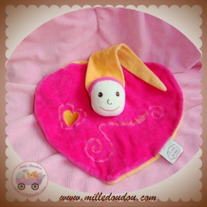 CMP SOS DOUDOU LUTIN PLAT ROSE ORANGE COEUR