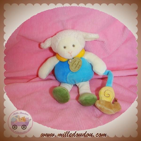 doudou et compagnie simon le petit mouton bleu escargot. Black Bedroom Furniture Sets. Home Design Ideas