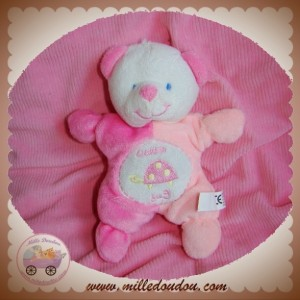 CENTRAL VET SOS DOUDOU OURS BLANC ROSE TORTUE