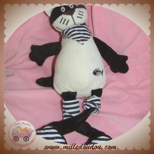 raynaud les petites marie doudou chat noir et blanc. Black Bedroom Furniture Sets. Home Design Ideas