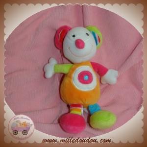 BABYSUN BABY SUN SOS DOUDOU SOURIS ROSE BLANCHE ORANGE