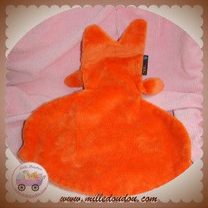 NOTSOBIG DOUDOU PIEUVRE ANIMAL PLAT ORANGE COEUR