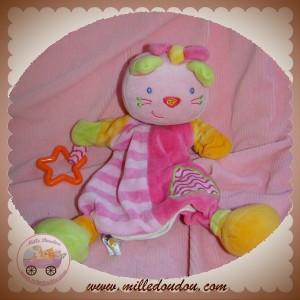 BABYSUN BABY SUN SOS DOUDOU CHAT OURS ROSE MARIONNETTE ETOILE