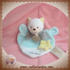 BABYNAT BABY NAT DOUDOU CHAT BONZAI PLAT VERT JAUNE SOS