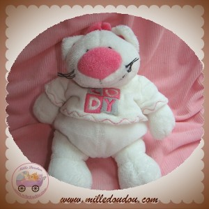 ANNA CLUB PLUSH SOS DOUDOU CHAT BLANC CODY
