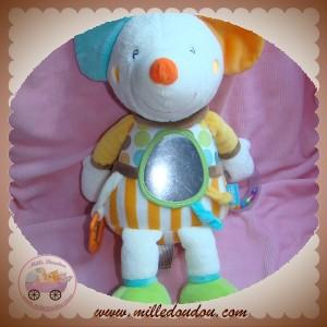 BABYSUN BABY SUN SOS DOUDOU SOURIS GOURMANDISE ACTIVITES JAUNE ORANGE VERT
