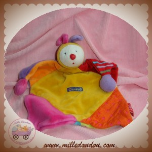 MOULIN ROTY SOS DOUDOU CLOWN DRAGOBERT PLAT JAUNE ROUGE ORANGE