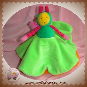 MOULIN ROTY SOS DOUDOU ABEILLE LOUNA PLAT ORANGE VERT
