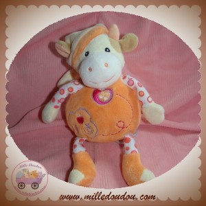 GIPSY SOS DOUDOU VACHE ECRU MUSICAL HS ORANGE