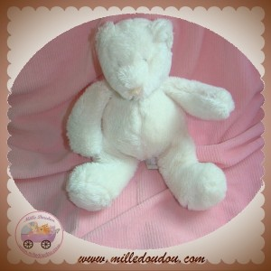 MOULIN ROTY SOS DOUDOU OURS BASILE ET LOLA BLANC MUSICAL