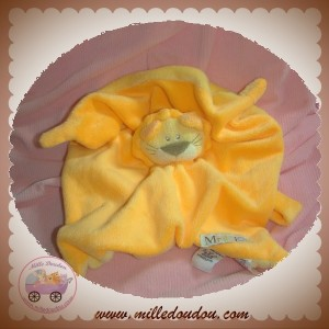 LES CHATOUNETS SOS DOUDOU LION PLAT ORANGE JAUNE