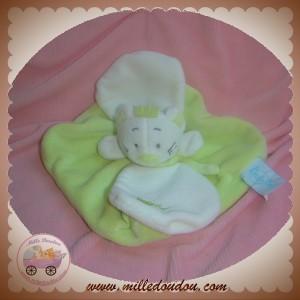 BABYNAT BABY NAT SOS DOUDOU CHAT PLAT VERT CAPE BLANC