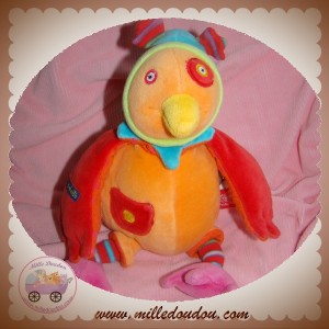 MOULIN ROTY SOS DOUDOU COQ ORANGE DRAGOBERT MUSICAL