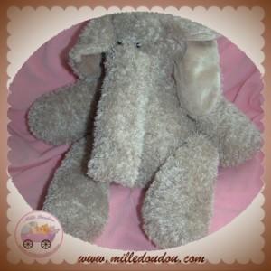 MOFFY DECOMA SOS DOUDOU ELEPHANT GRIS TAUPE