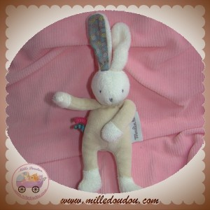 MOULIN ROTY SOS DOUDOU LAPIN BLANC CORPS BEIGE