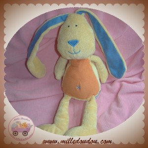 JELLY KITTEN SOS DOUDOU LAPIN CHIEN JAUNE BLEU ORANGE JELLYCAT