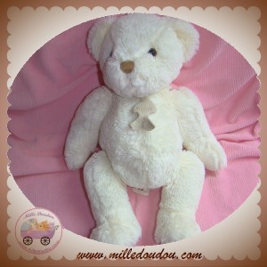HISTOIRE D'OURS SOS DOUDOU OURS BLANC ASSIS STYLE ARTICULE