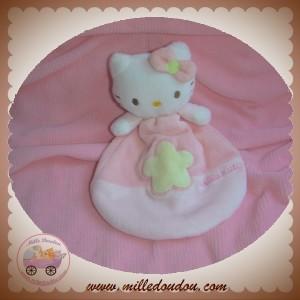 sanrio sos doudou chat hello kitty plat rose fleur bras. Black Bedroom Furniture Sets. Home Design Ideas