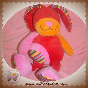 CP INTERNATIONAL SOS DOUDOU CHIEN ROUGE ROSE ORANGE