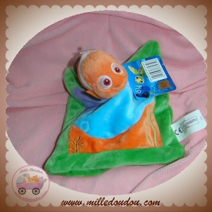 DISNEY SOS DOUDOU POISSON NEMO ORANGE PLAT VIOLET BLEU ORANGE