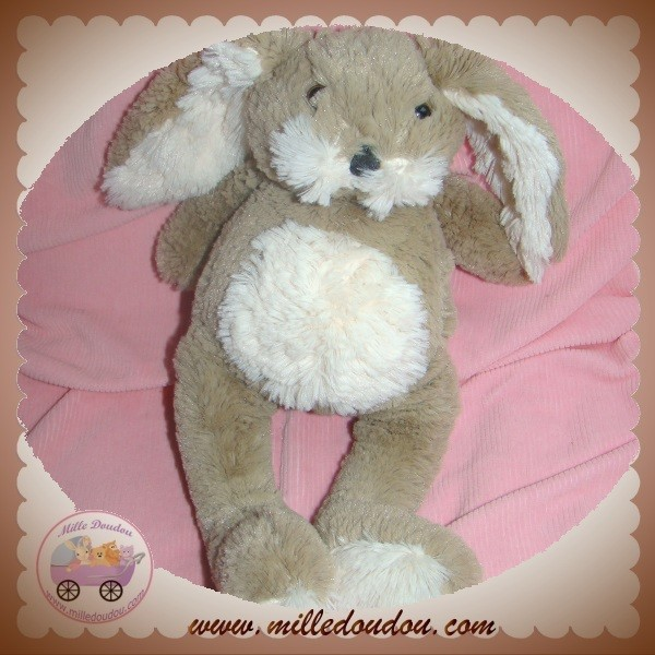 raynaud les petites marie sos doudou lapin petit poil marron ecru beige. Black Bedroom Furniture Sets. Home Design Ideas