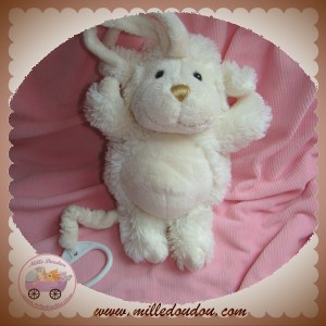 LA GALLERIA SOS DOUDOU MOUTON ECRU MUSICAL NEZ OR